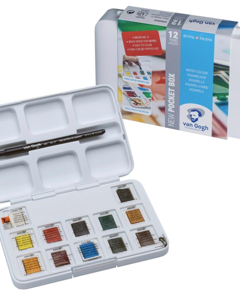 van Gogh pocket box