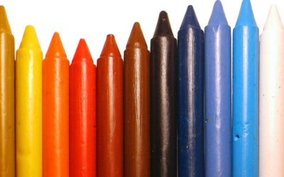 Children's crayons vs Artists crayons