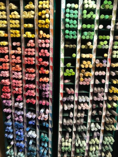 Winsor Newton soft pastels